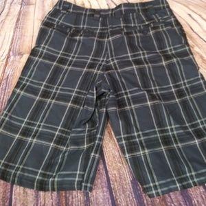 O'Neill plaid shorts